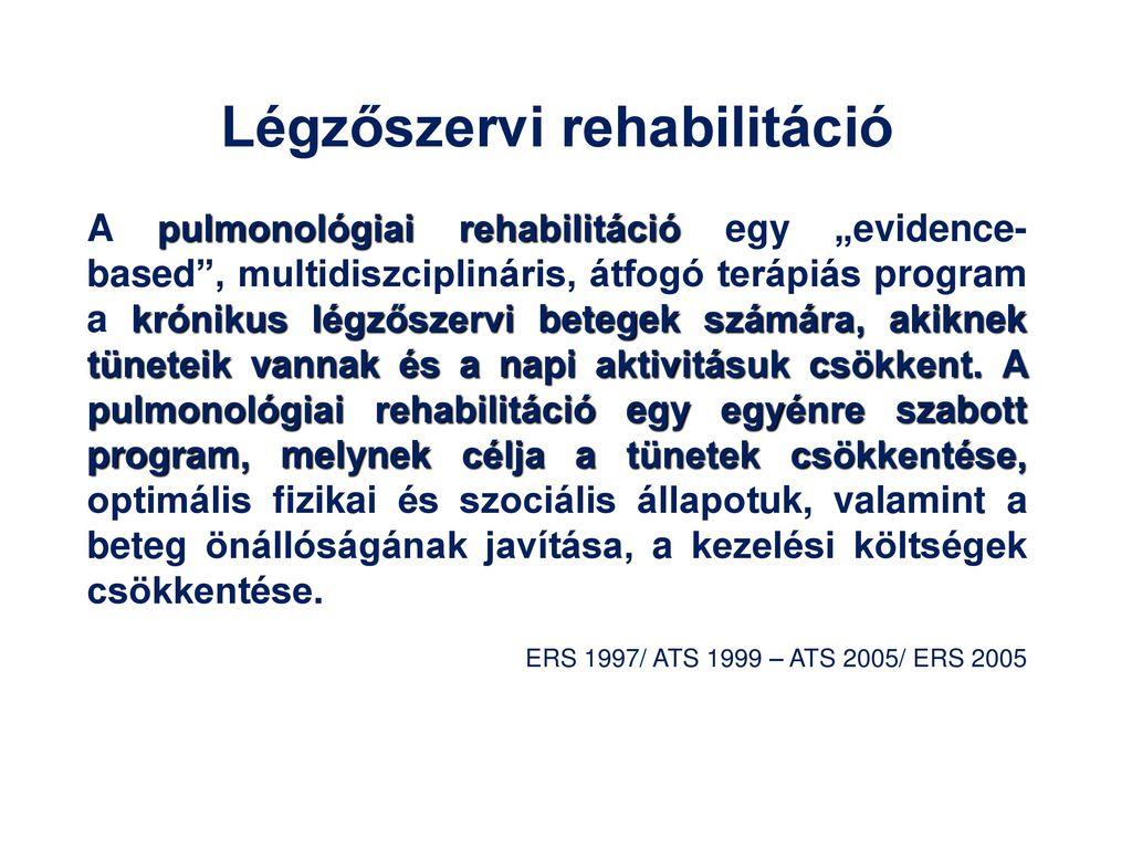 Rehabilitációs program emlőrákos nőknek