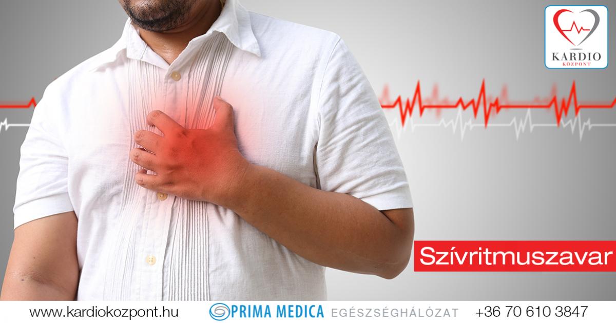 a magas vérnyomás aritmia megelőzése