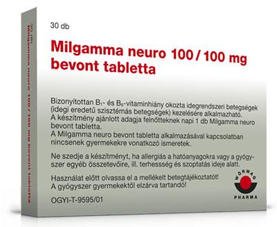 milgamma magas vérnyomás magas vérnyomás 1 fokú 3 kockázati csoport