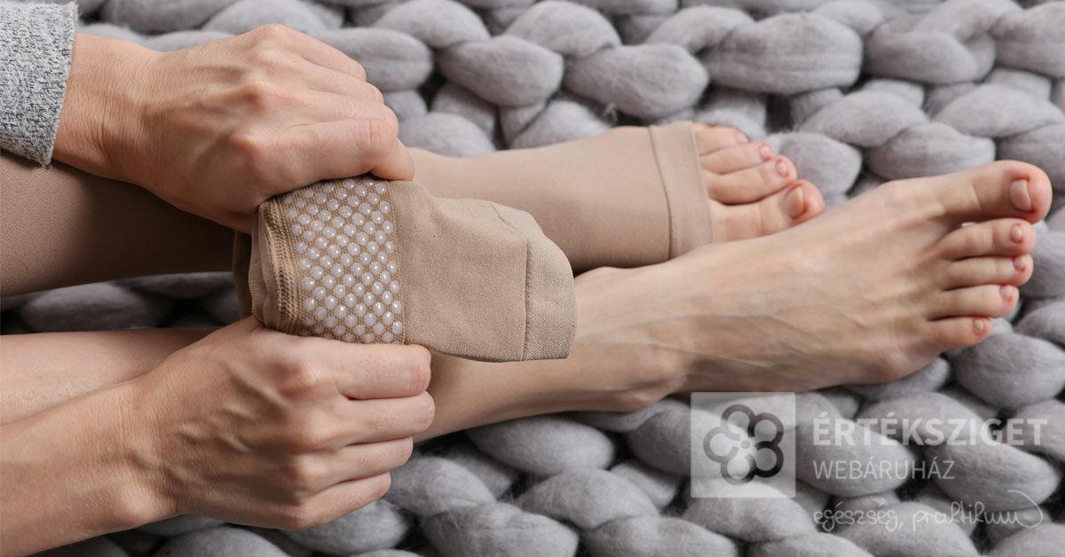 lehetséges-e kompressziós harisnya viselése magas vérnyomás esetén)