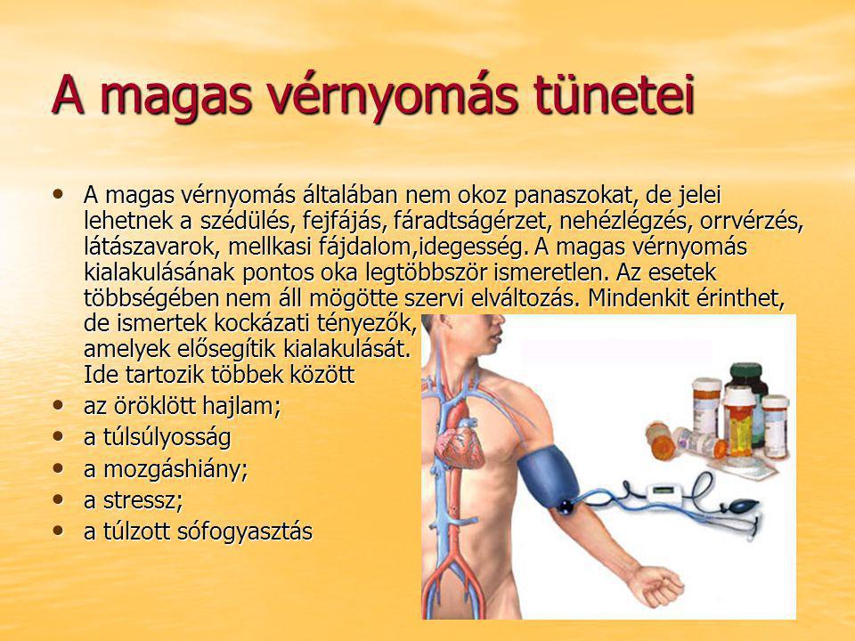 magas vérnyomás-roham