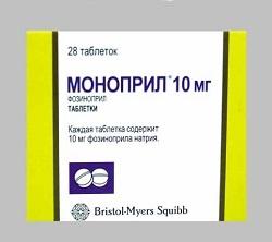 MONOPRIL 20 mg tabletta (28x)
