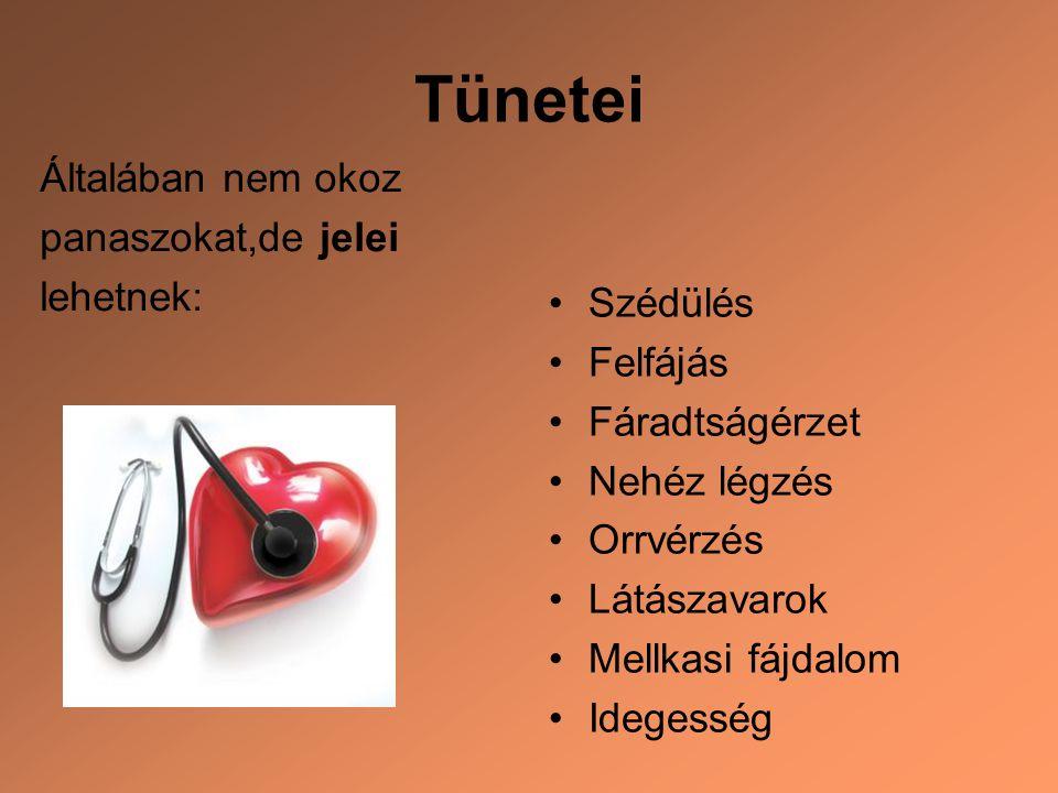 előadás a magas vérnyomásban szenvedő betegek számára)
