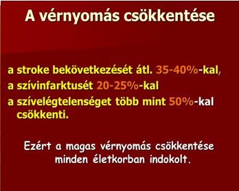 magas vérnyomás nyomás aránya)