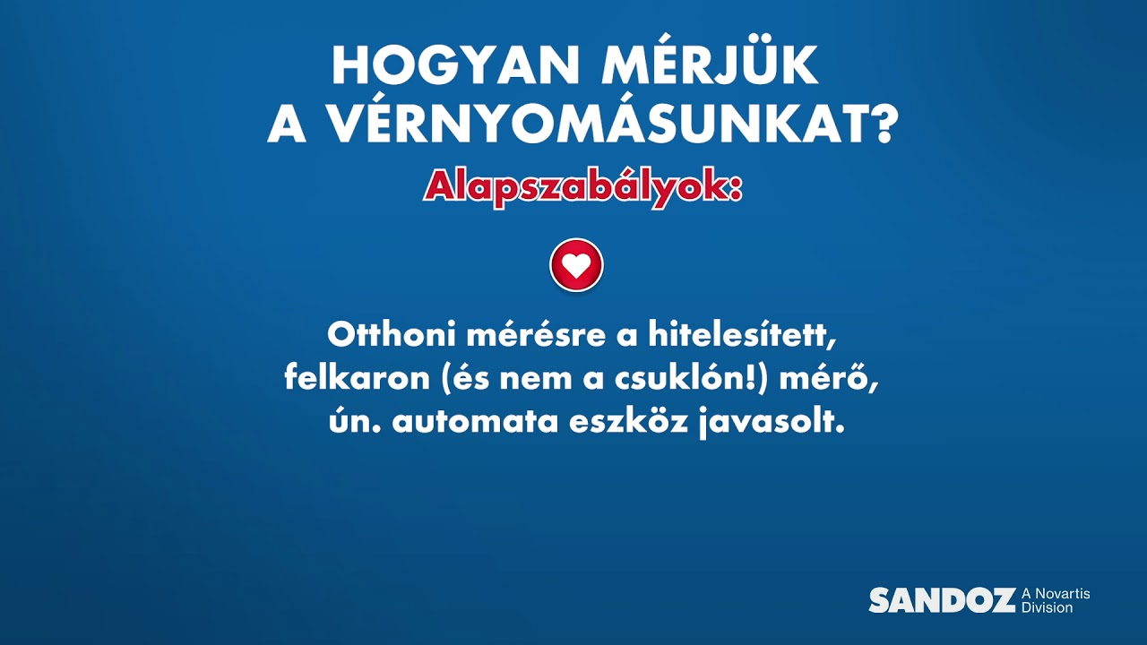 magas vérnyomás esetén sürgős)