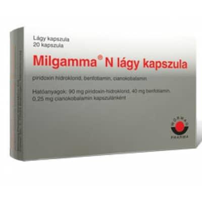 milgamma magas vérnyomás vaszkuláris hipertónia fotó