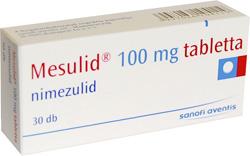 MESULID 100 mg tabletta