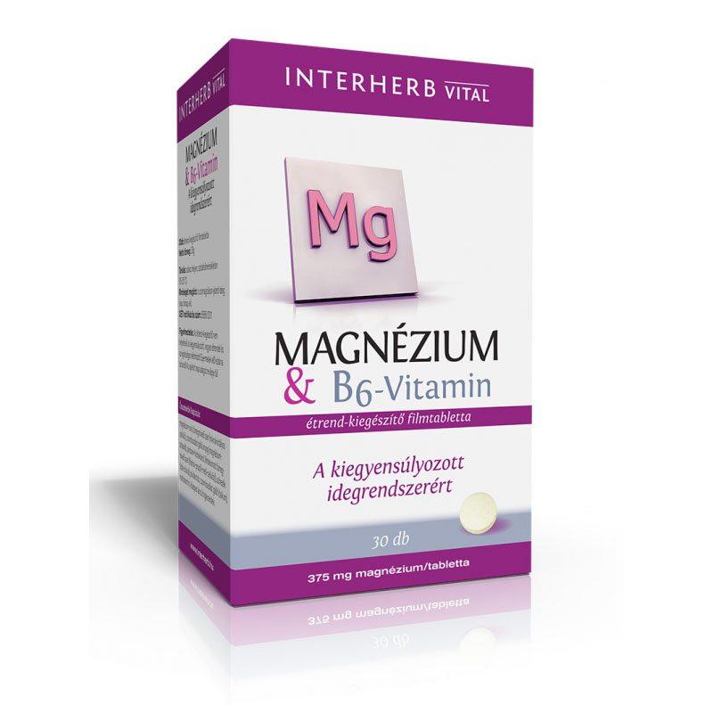 magnézium és b6-vitamin magas vérnyomás