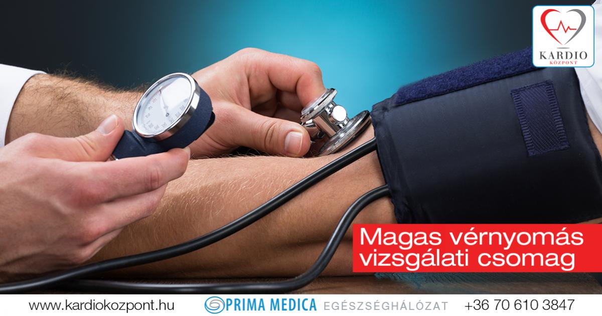 magas vérnyomás és vizsgálat)