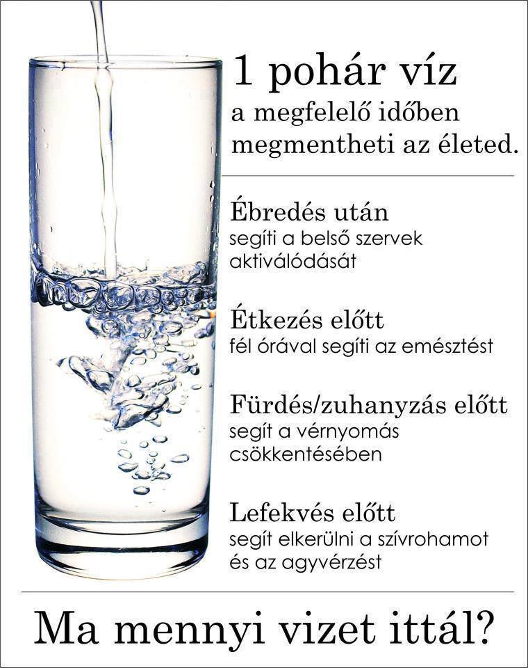 magas vérnyomás mennyi vizet kell inni)