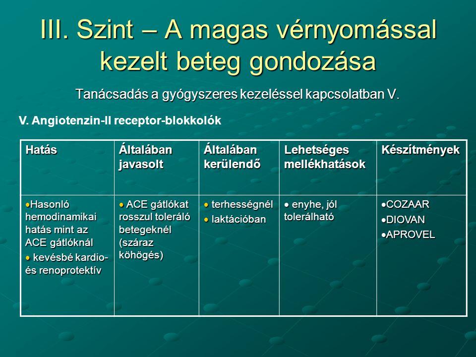 béta-blokkolók magas vérnyomású gyógyszerek)