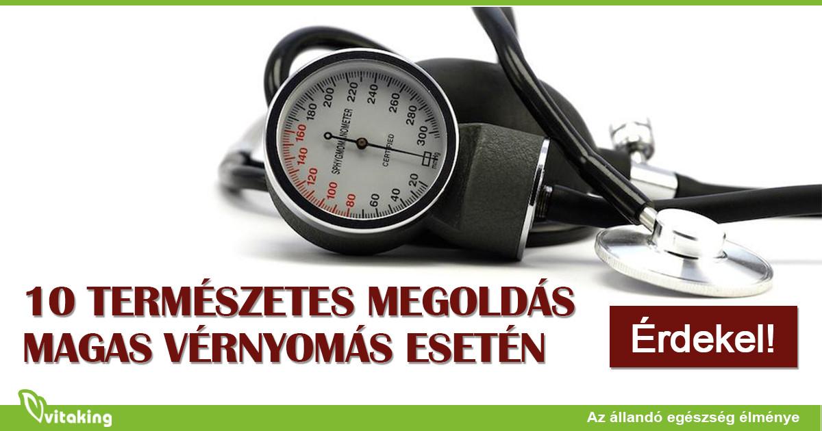 magas vérnyomás vérnyomás esetén magas vérnyomás életmód