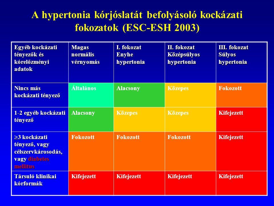 Hipertónia kockázati fok 2