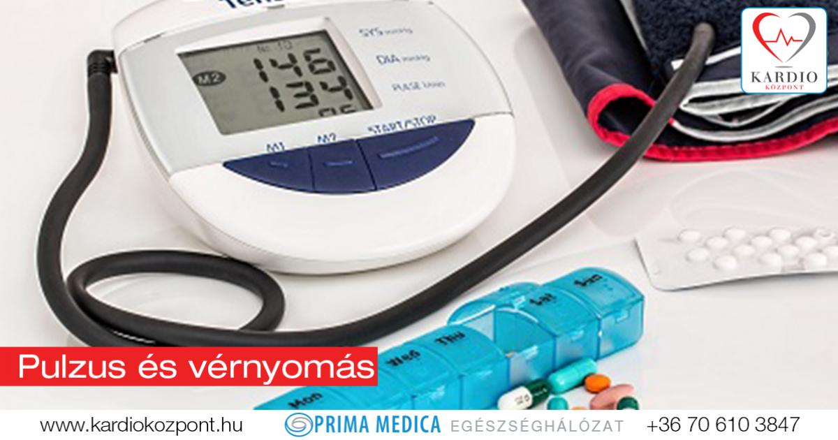 alacsony vérnyomás magas pulzus magas vérnyomás esetén