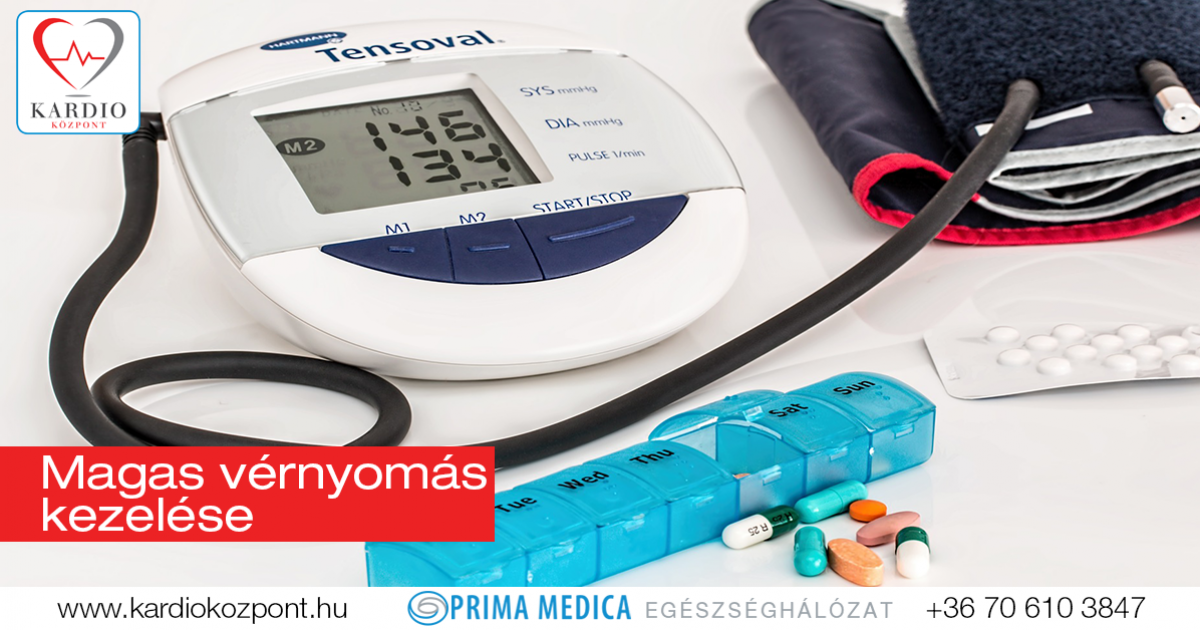 a gyógyszer magas vérnyomást kezel)