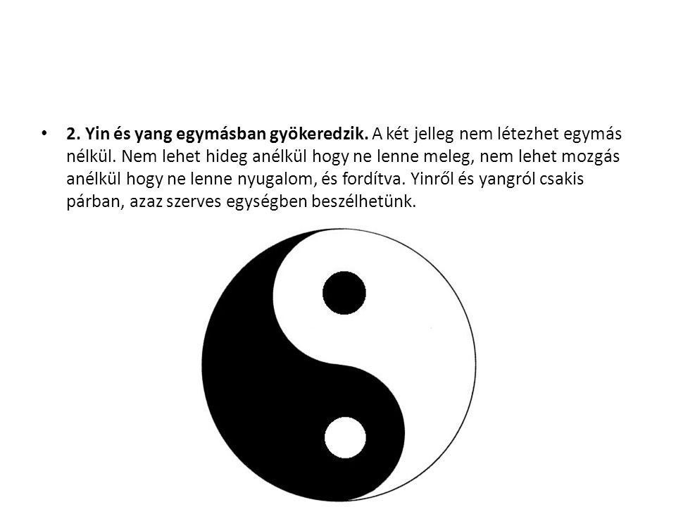 magas vérnyomás yang vagy yin)