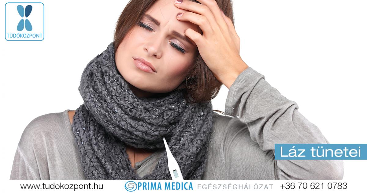 magas vérnyomás és láz)