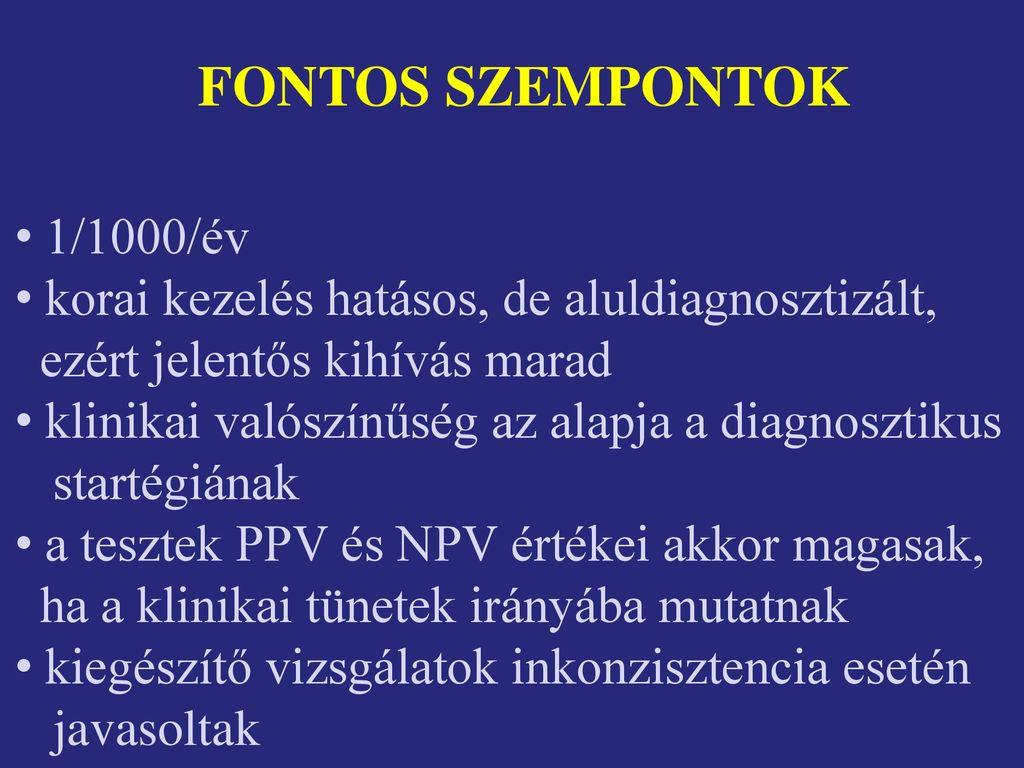 pulmonalis hipertónia jelei)