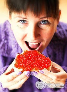 vörös kaviár és magas vérnyomás)