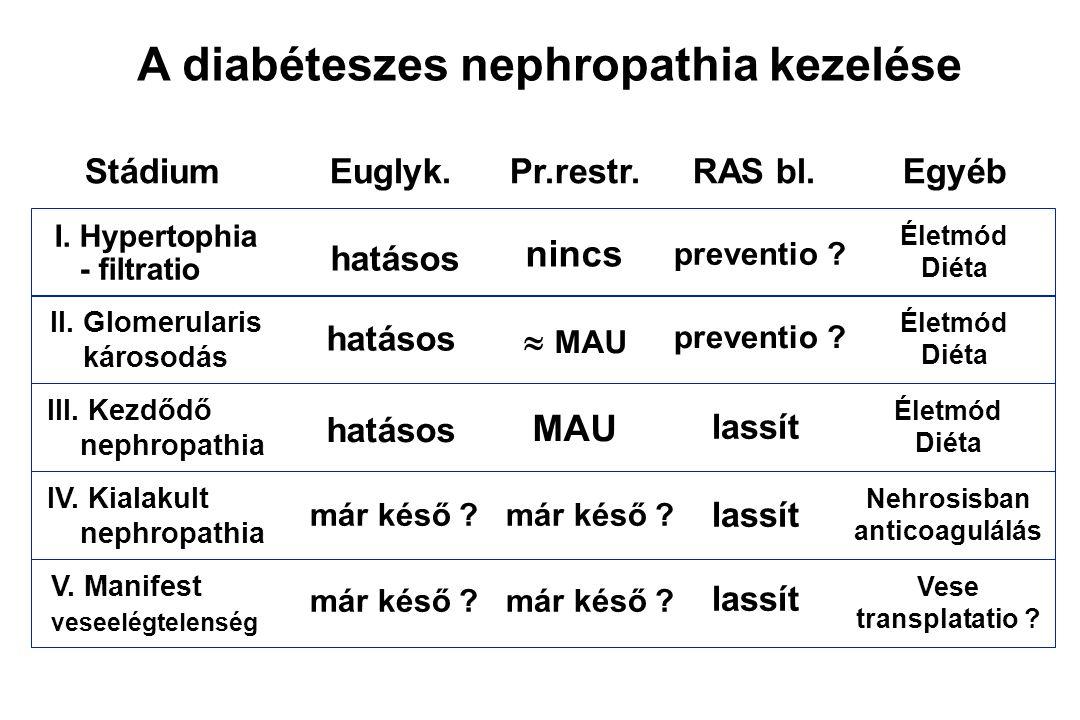magas vérnyomás diabéteszes nephropathiában)