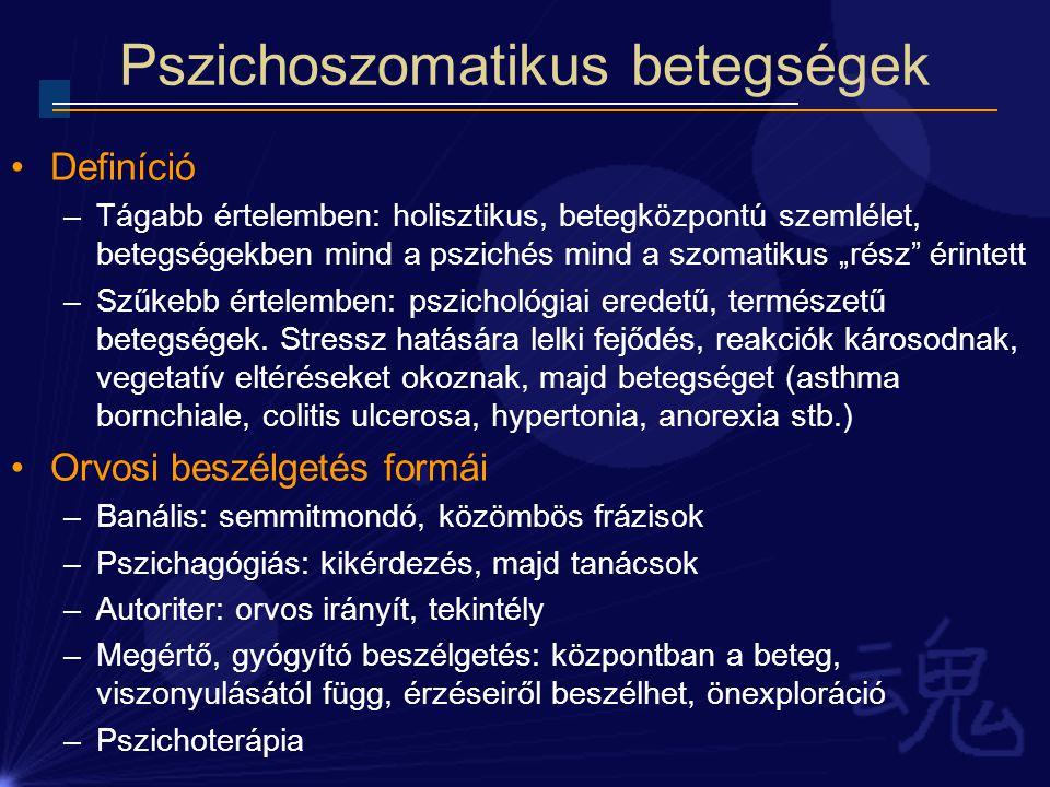 a hipertónia pszichoszomatikus okai