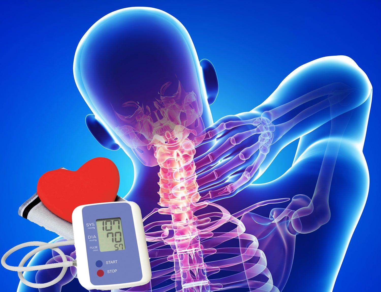 osteochondrosis és magas vérnyomás kezelés