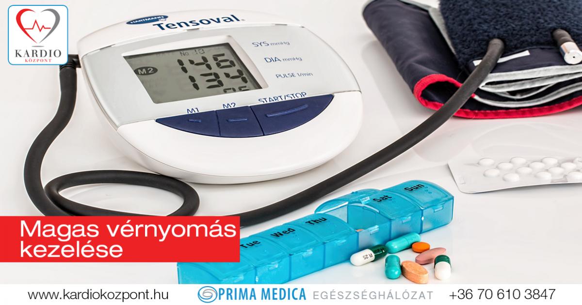 magas vérnyomás kezelés-gyógyszeres kezelés