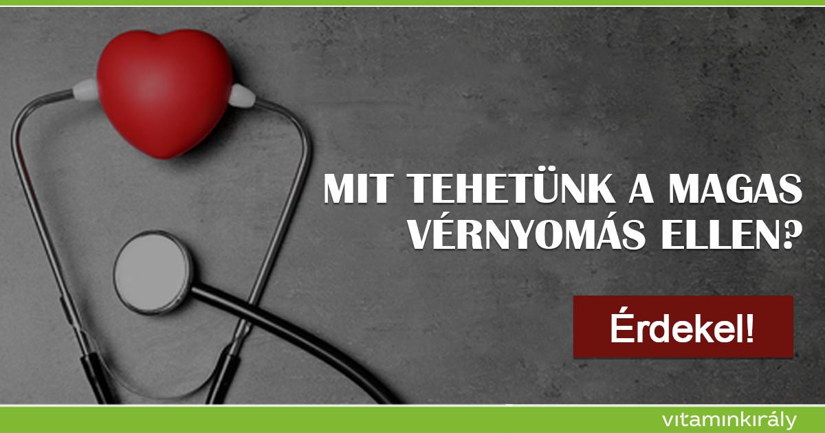 vitaminok magas vérnyomás és cukorbetegség ellen a 3 fokú magas vérnyomás kockázata