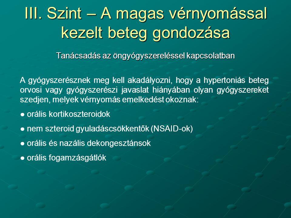 NSAID-ok magas vérnyomás esetén)
