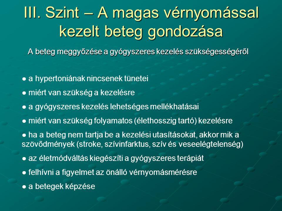 magas vérnyomás 3 fokozatú 4 tünetek és kezelés)