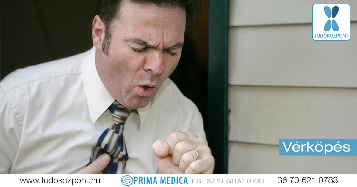 magas vérnyomás és vér köhögéskor)