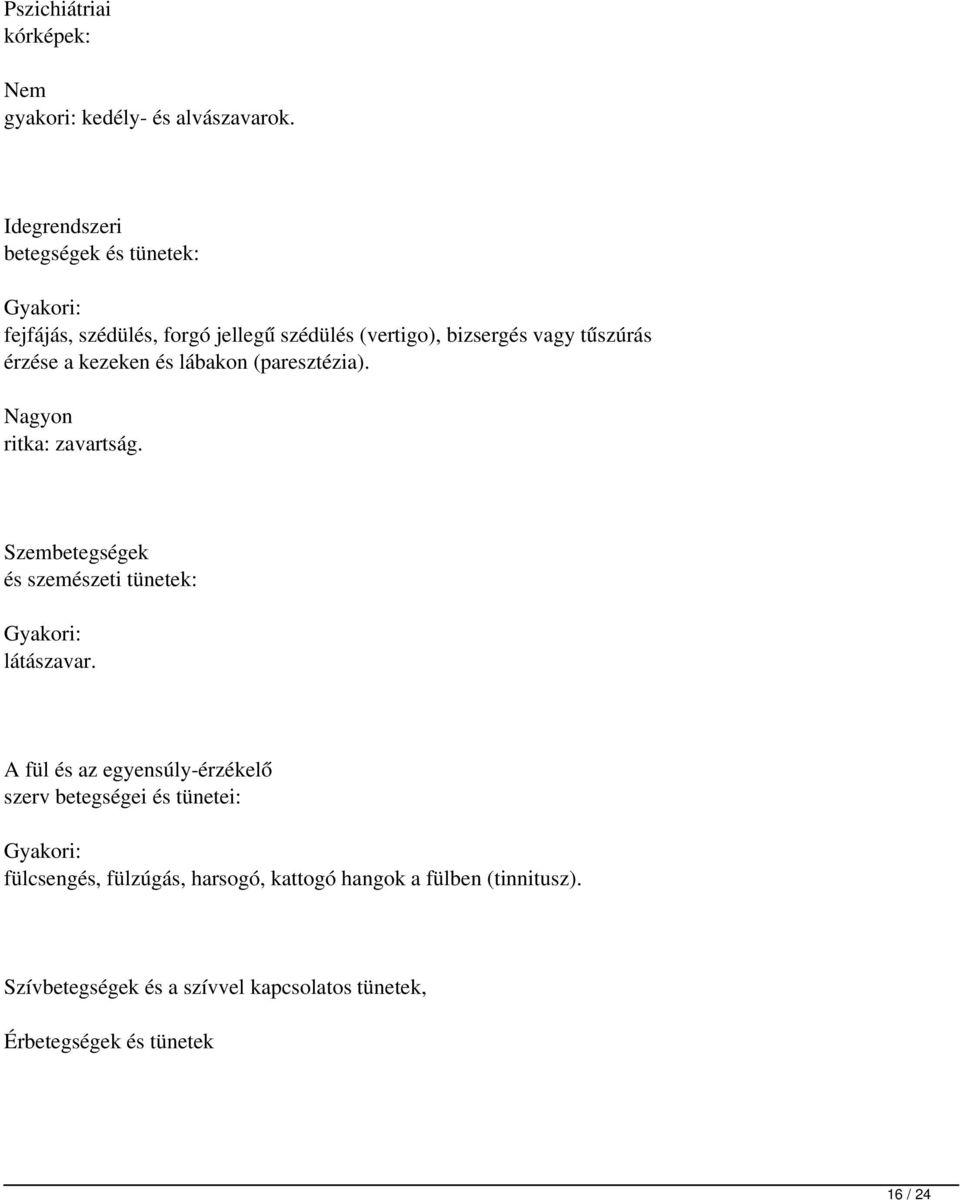 aszténia és magas vérnyomás)