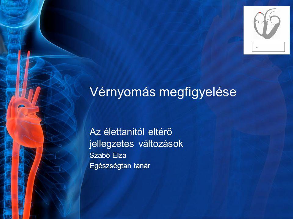 a hipertónia megfigyelése)