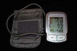 a magas vérnyomás eredménye