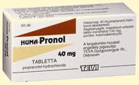 béta-blokkolók magas vérnyomású gyógyszerek