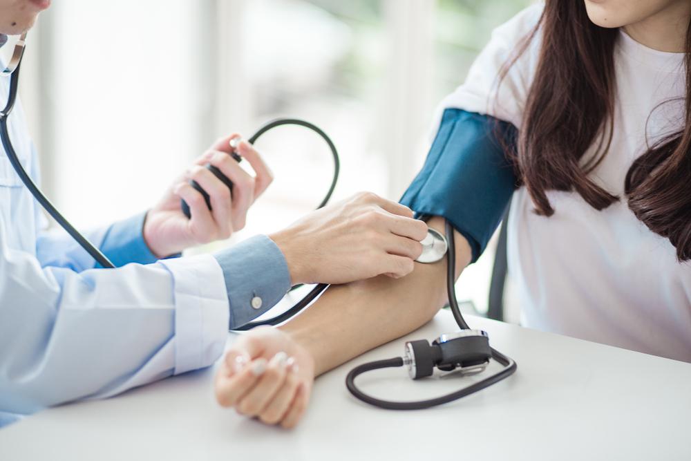magas vérnyomásból származó cianózis