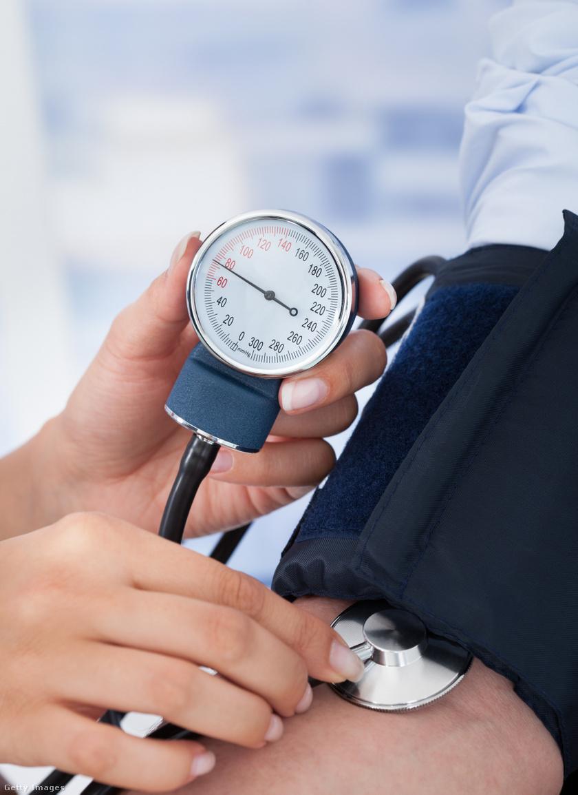 magas vérnyomás portréja