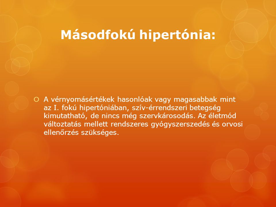 fokú hipertónia)