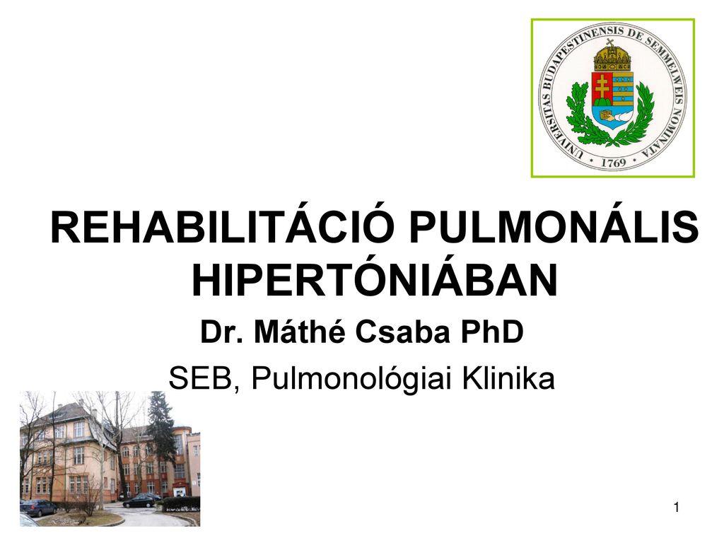 hipertónia rehabilitációs program magas vérnyomás kezelése sóval