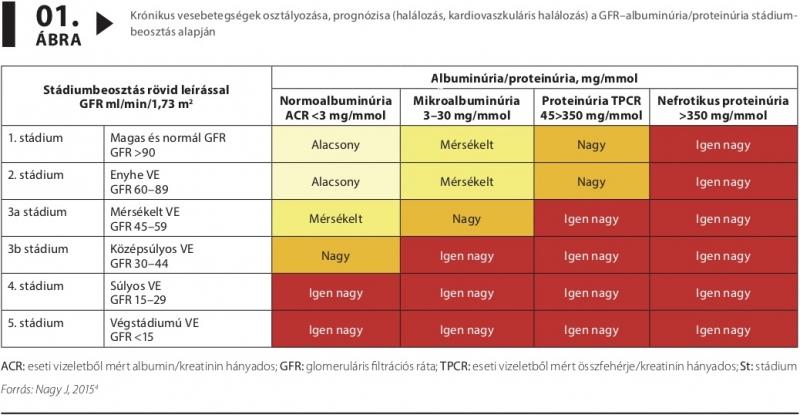 krónikus veseelégtelenség magas vérnyomással)