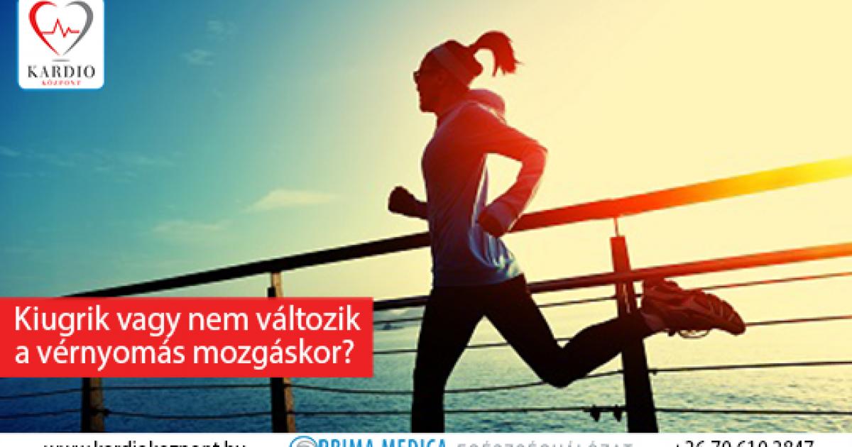 magas vérnyomás futás után